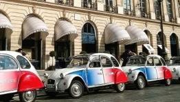 Transfer autour de Paris en 2cv