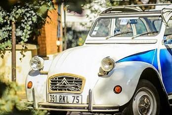 2cv Citroën vue de face