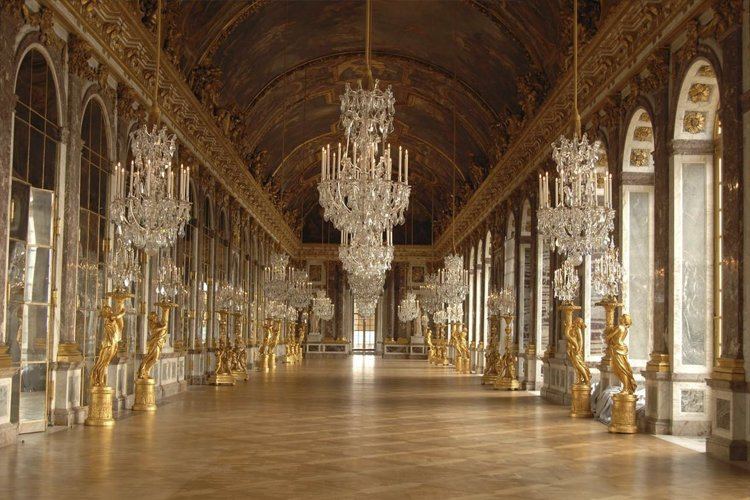 Interior of the Palace of Versailles