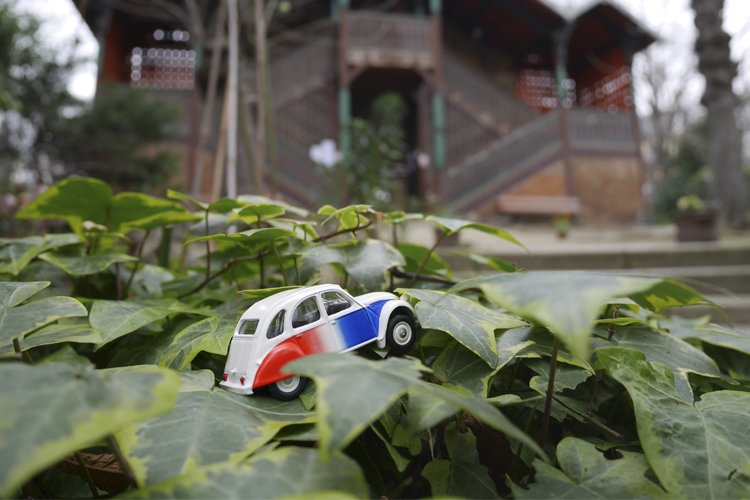 2CV miniature
