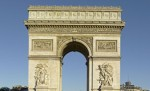 Photo of the triumphal arch